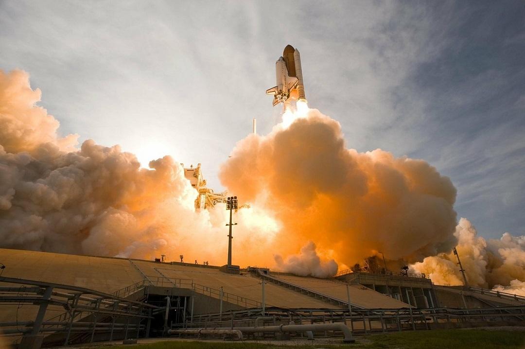 lancement navette spatial